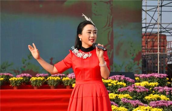 首次在上蔡唱响 -公益中国 五千年铸造一个中华魂,五十六个民族一家